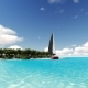 Deserted Tropical Island with a Sailboat - VideoHive Item for Sale