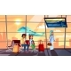 People in Airport Vector Illustration