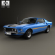 Ford Mustang Mach 1 351 1969