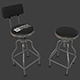 Garage Bar Stool - 3DOcean Item for Sale
