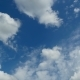 Clouds Are Moving in the Blue Sky - VideoHive Item for Sale