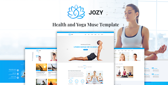 Jozy - Health and Yoga Muse Template