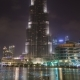 Musical Fountain Dubai Lake Night - VideoHive Item for Sale