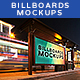 Billboards Mockups at Night Vol.1 - GraphicRiver Item for Sale