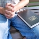 Person Prays with Holy Bible - VideoHive Item for Sale