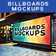 Billboards Mockups at Night Vol.2 - GraphicRiver Item for Sale