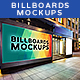 Billboards Mockups at Night Vol.3 - GraphicRiver Item for Sale