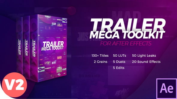 Trailer Mega Toolkit After Effects 21836910
