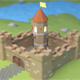 Castle low-poly