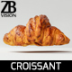 Croissant 001 - 3DOcean Item for Sale