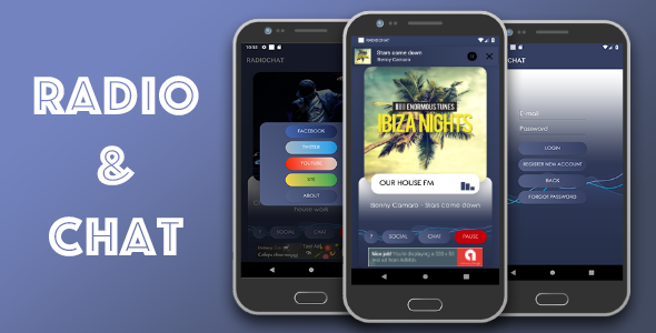 Radio & Chat single station (android)            Nulled