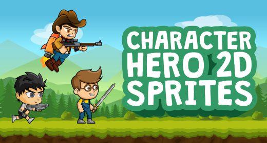 Character Hero 2D Sprites