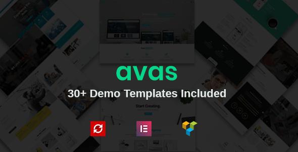 Avas - Business Agency Multipurpose Theme - Business Corporate