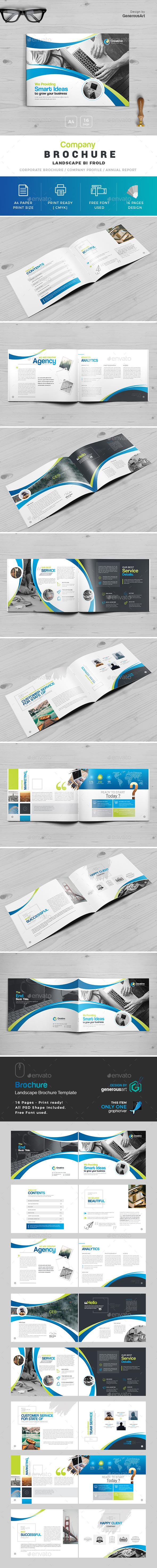 Landscape Brochure - Brochures Print Templates