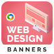 Web Design Banner Set - GraphicRiver Item for Sale