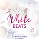 White Beats Flyer - GraphicRiver Item for Sale