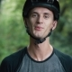 Portrait of Funny Cyclist Man - VideoHive Item for Sale