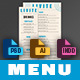 Menu - GraphicRiver Item for Sale