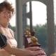Smiling Senior Female Runner Posing at Camera - VideoHive Item for Sale