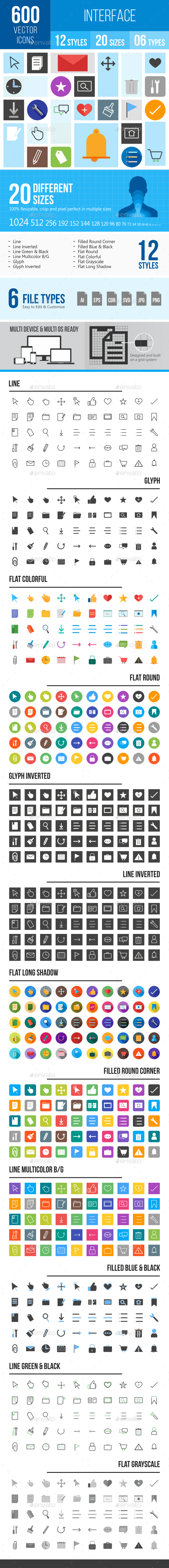 Interface Icons - Icons