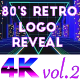 80's Retro Logo Reveal vol.2 - VideoHive Item for Sale