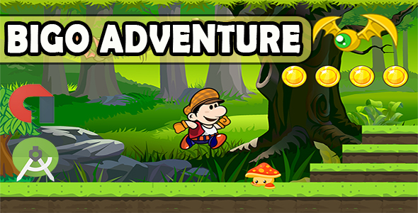 Bigo Adventure Android Game Template Android Studio Project Admob Ads - CodeCanyon Item for Sale