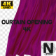 Curtain Opening Slide 4K - VideoHive Item for Sale