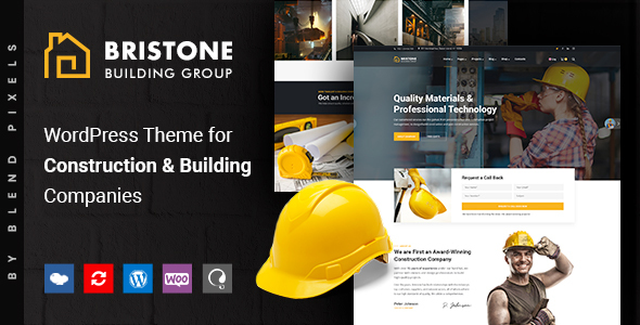 Image of Bristone | Building & Construction WordPress Theme