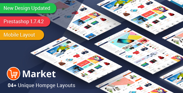 Image of Market - Responsive Multipurpose PrestaShop 1.6 and 1.7 Theme