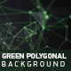 Green Polygonal Background - VideoHive Item for Sale