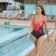 Two Beautiful Women Walking Around Pool - VideoHive Item for Sale