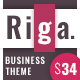 Riga | Corporate Business WordPress - ThemeForest Item for Sale