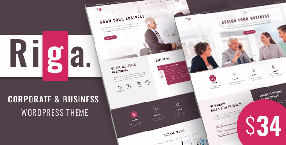 Riga | Corporate Business WordPress