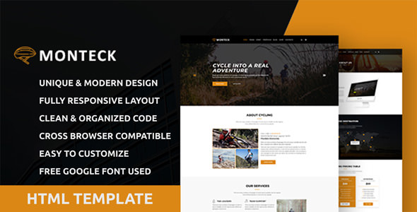 Monteck Sports Club Html Template