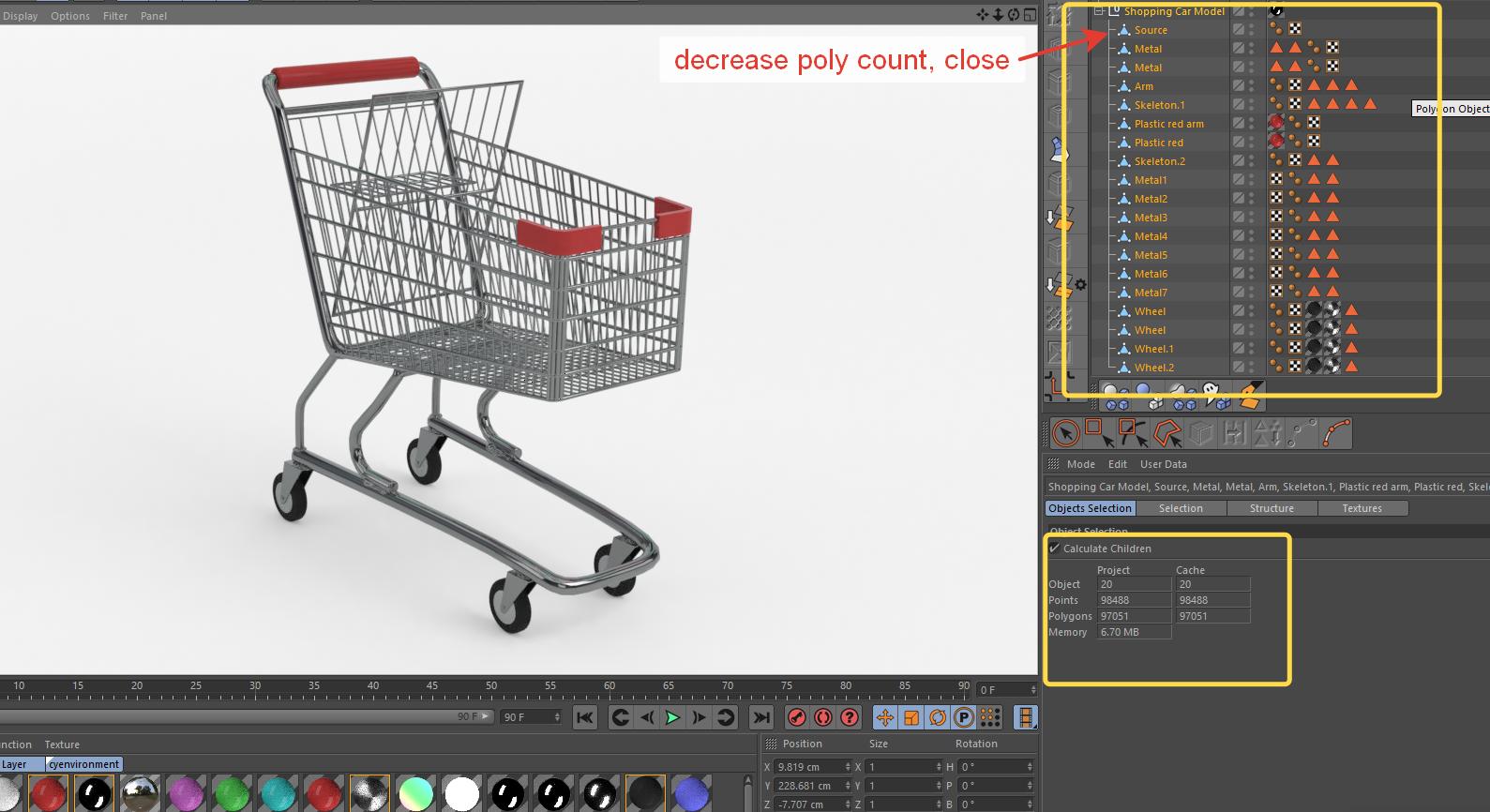 Shopping Cart Model