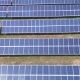 Aerial Industrial View Solar Panels. - VideoHive Item for Sale