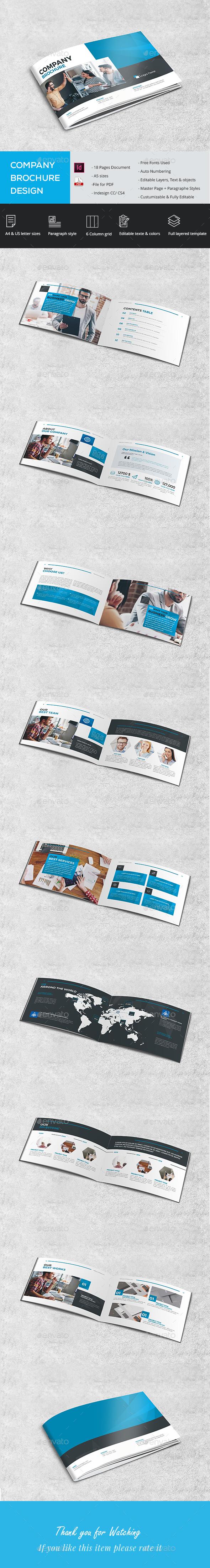 A5 Company Brochure - Corporate Brochures