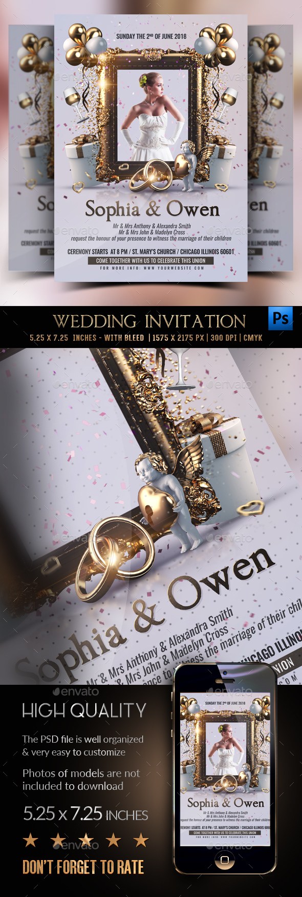 Wedding Invitation - Clubs & Parties Events
