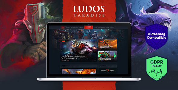 Ludos Paradise | Gaming Blog & Clan WordPress Theme - Entertainment WordPress