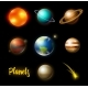 Planets in Solar System - GraphicRiver Item for Sale