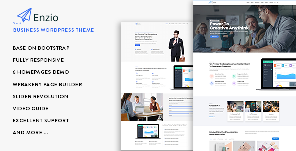 Image of Enzio - Responsive Business WordPress Theme