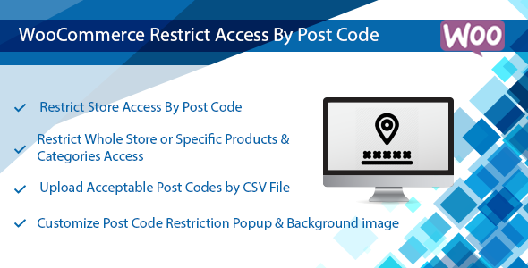 WooCommerce Plugin: Restrict Store / Catalog Access by Post Code            Nulled