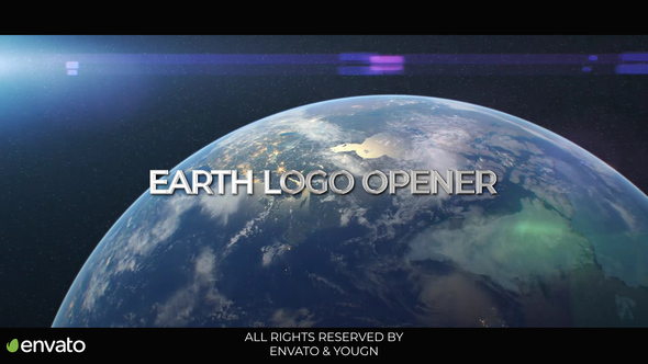 Earth Logo Opener