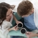 Young Couple in Love at Home Having a Cup of Coffee - VideoHive Item for Sale