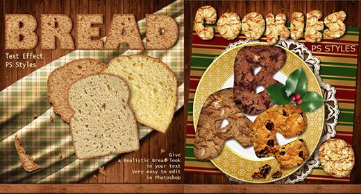 Cookies & Bread PS Styles