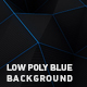 Low Poly Blue Background - VideoHive Item for Sale