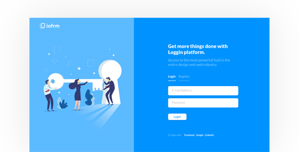 Iofrm Login And Register Form Templates
