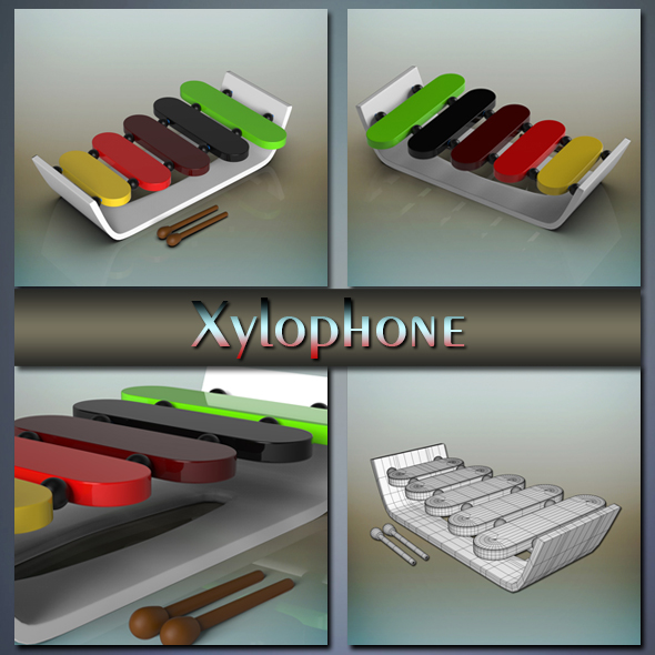 Xylophone - 3DOcean Item for Sale