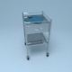 Hospital Medical Cart - 3DOcean Item for Sale