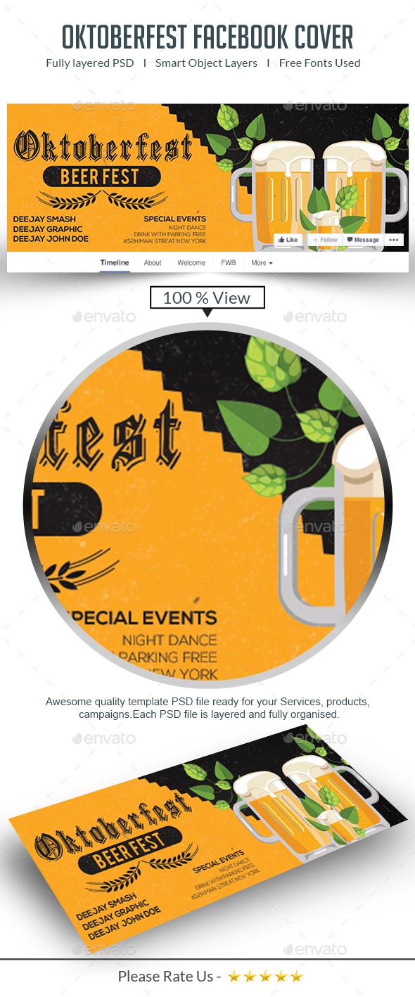 Oktoberfest Facebook Cover - Facebook Timeline Covers Social Media